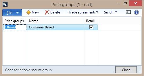 Price group
